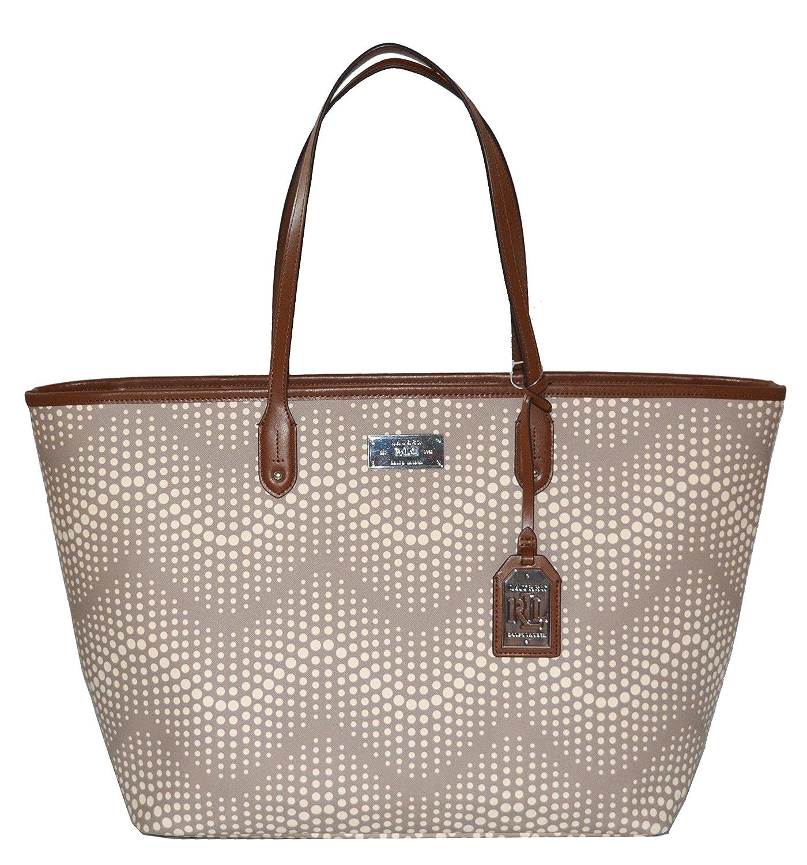 Lauren Ralph Lauren Bag Delwood Classic Tote Handbag Purse