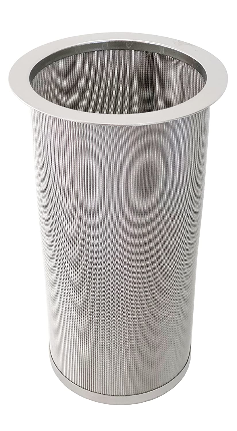 iAesthete Cold Brew Coffee Filter For Wide Mouth Mason Jar, Food Grade 304 Stainless Steel, Ultra Fine Mesh, Tea and Fruit infuser, Iced Coffee Maker, Iced Tea Maker, Cold Brew Coffee Maker