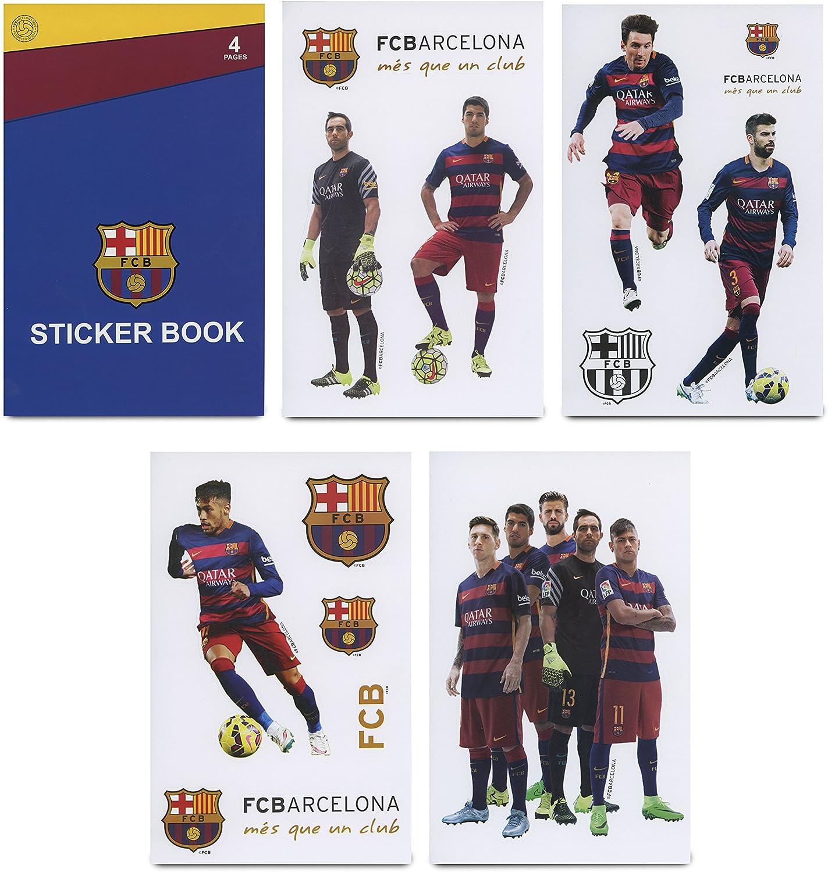 Maccabi Art Official FC Barcelona Sticker Book