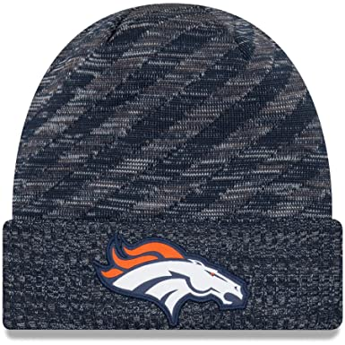 best website a005e 831cd Image Unavailable. Image not available for. Color  New Era 2018 NFL Denver  Broncos Tech Touchdown Stocking Knit Hat Winter Beanie