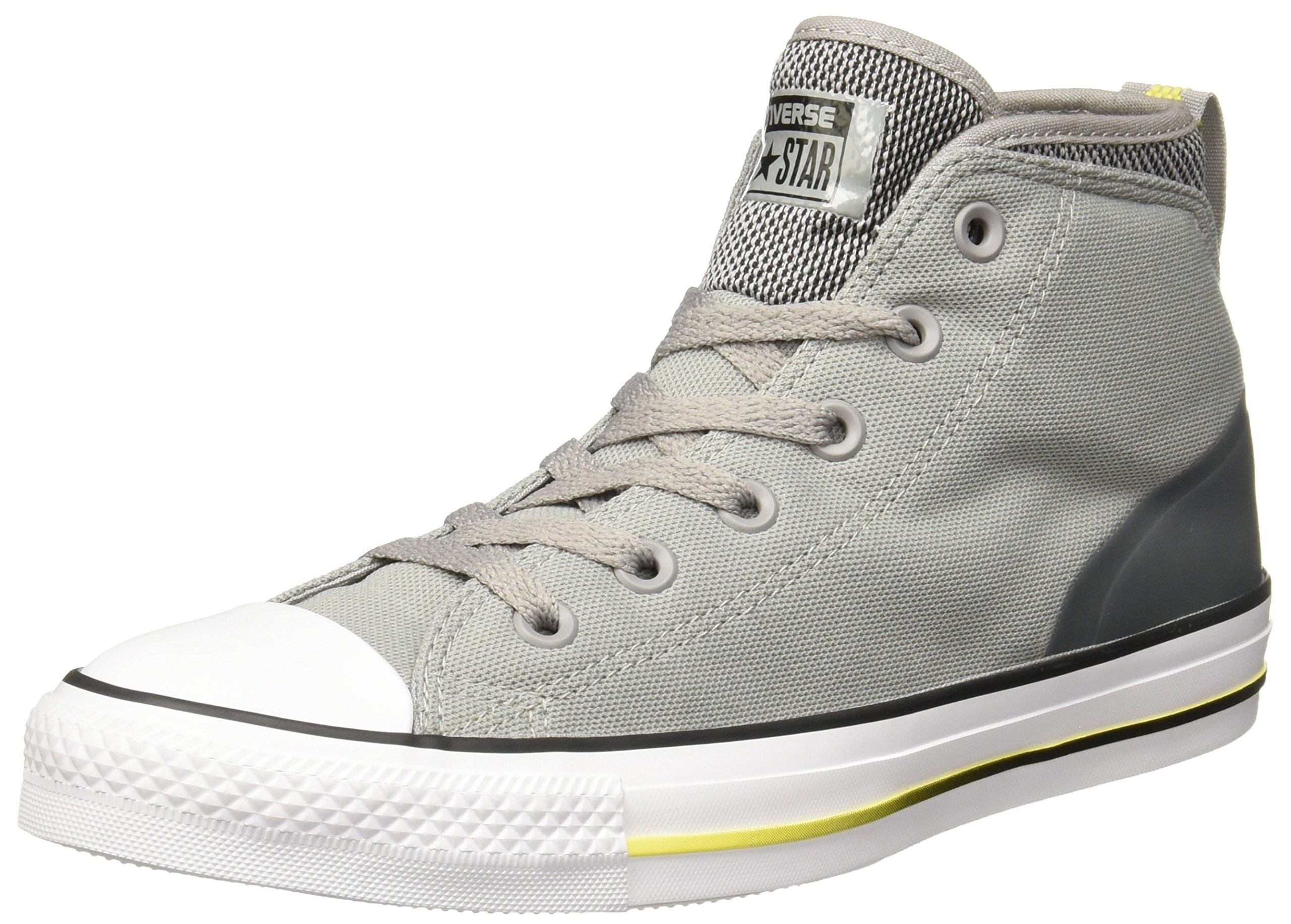 d35f991b208 Galleon - Converse Chuck Taylor All Star Syde Street Summer Mid Dolphin  Black Fresh Yellow Men s Classic Shoes
