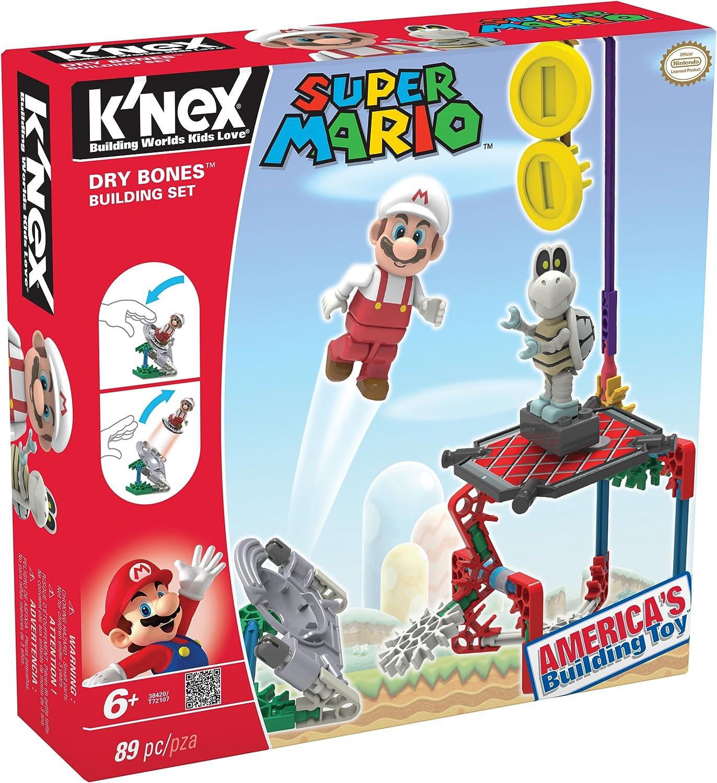 Knex Juego de construcción para niños Mario Bros de 89 Piezas (38420): Amazon.es: Juguetes y juegos