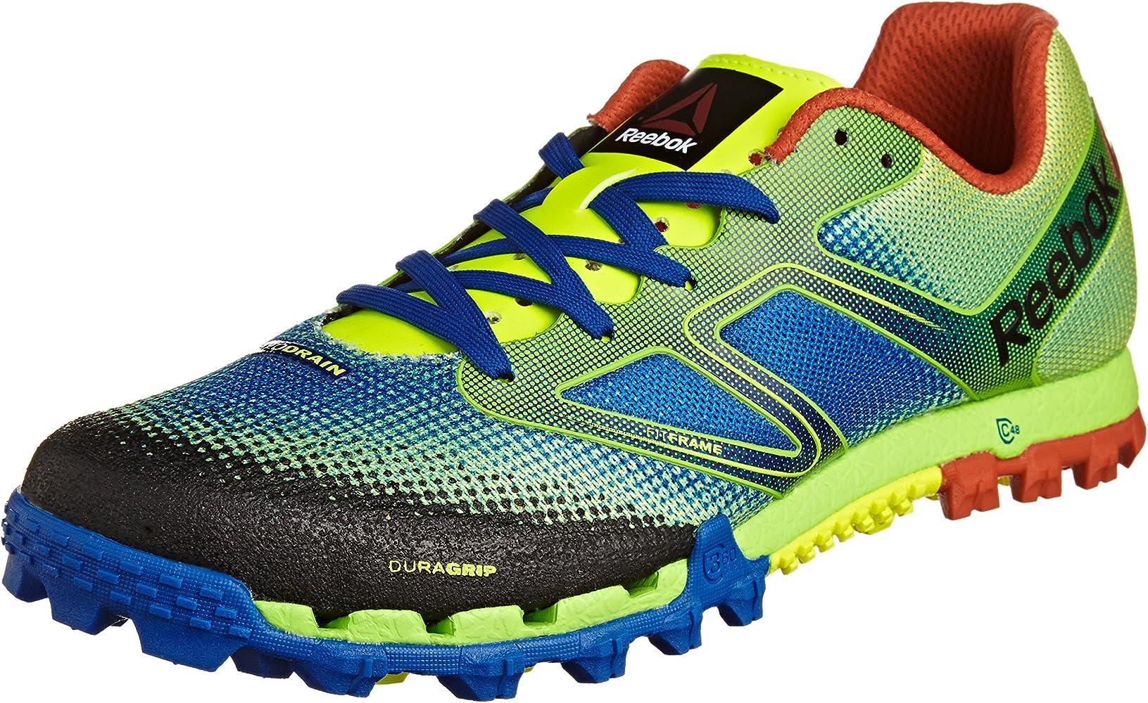 Reebok Todo Terreno Súper Hombres de los zapatos corrientes Amarillo M43837, Size:39: Amazon.es: Zapatos y complementos