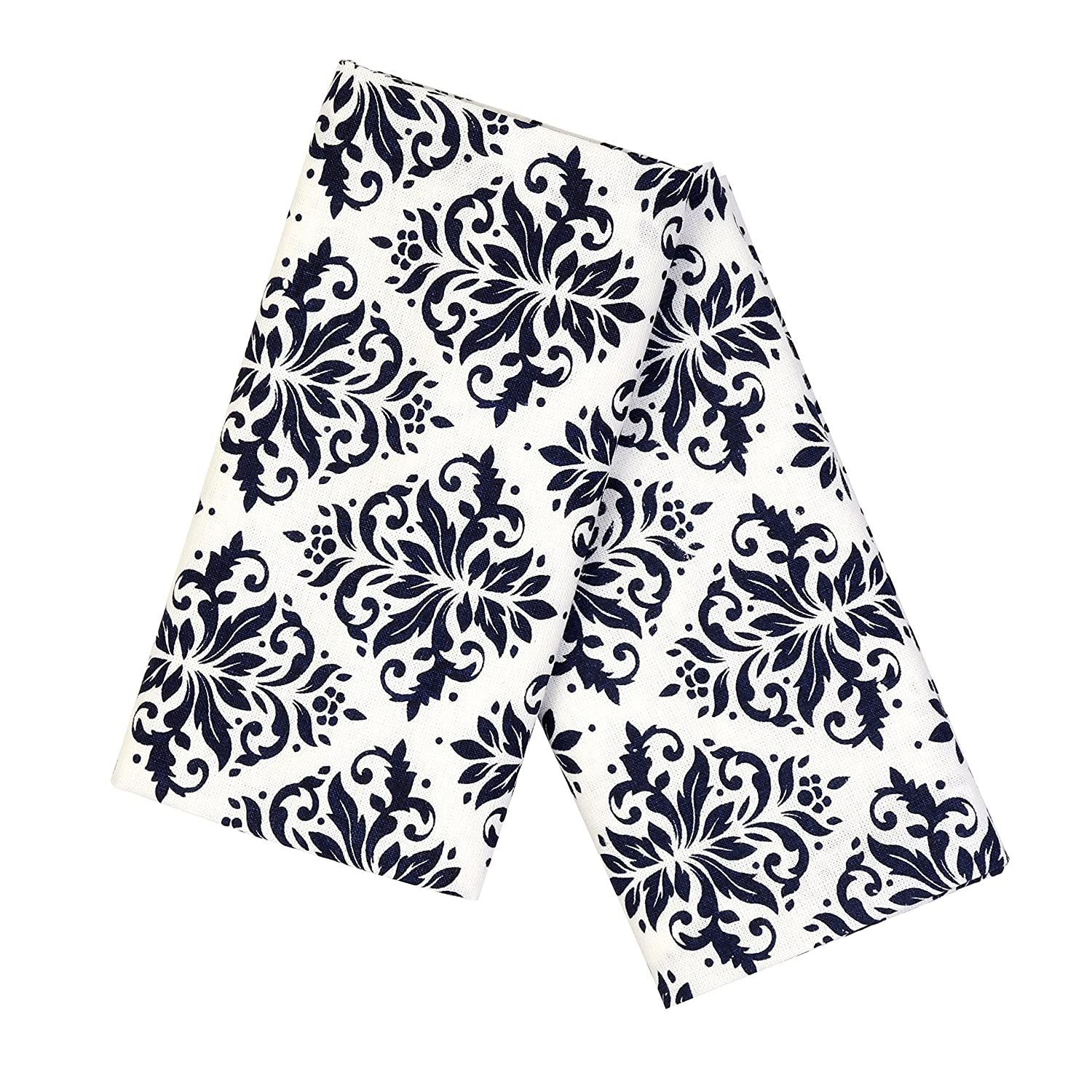 Kaf Home Gingham Napkin Navy