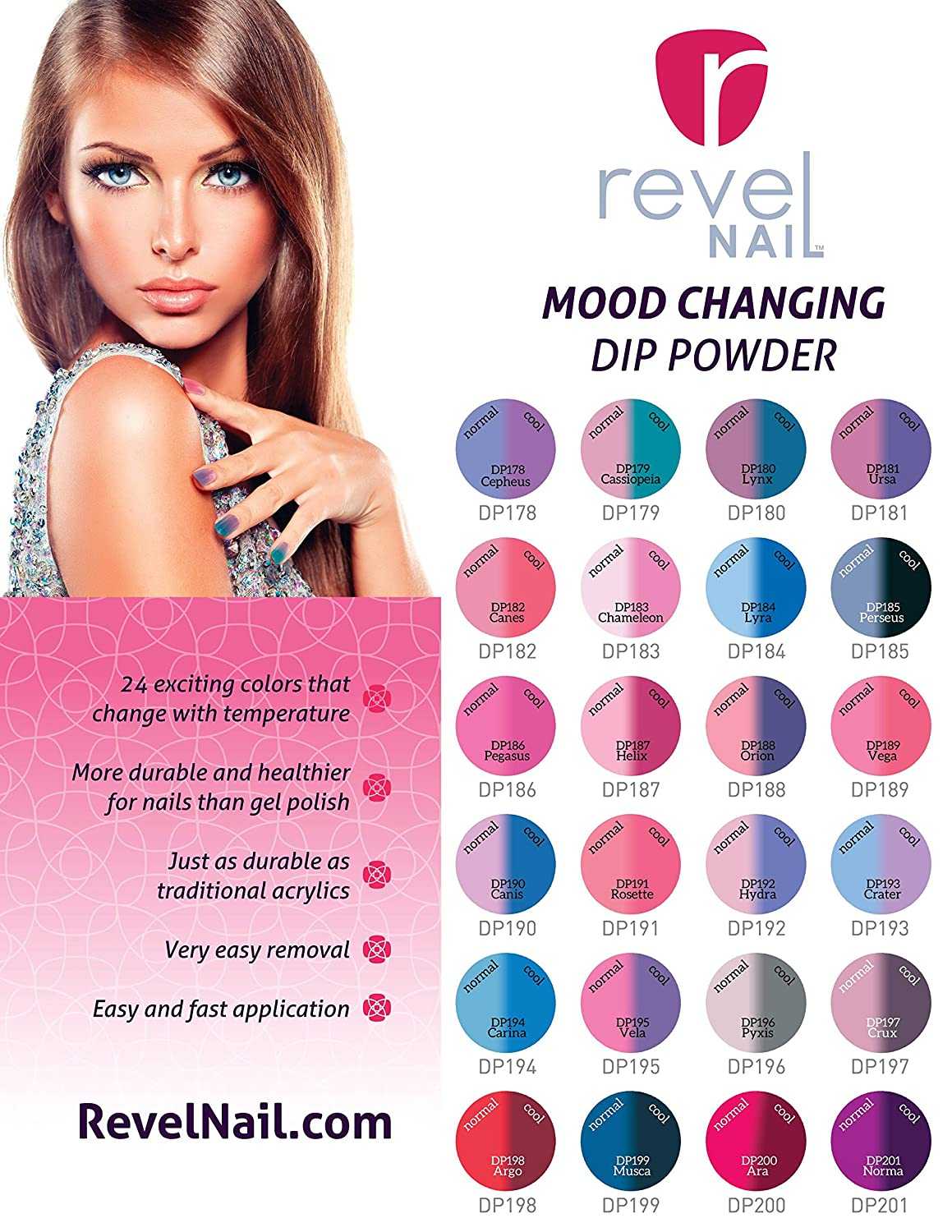Amazon.com : Revel Nail Dip Powder Starter Kit : Beauty