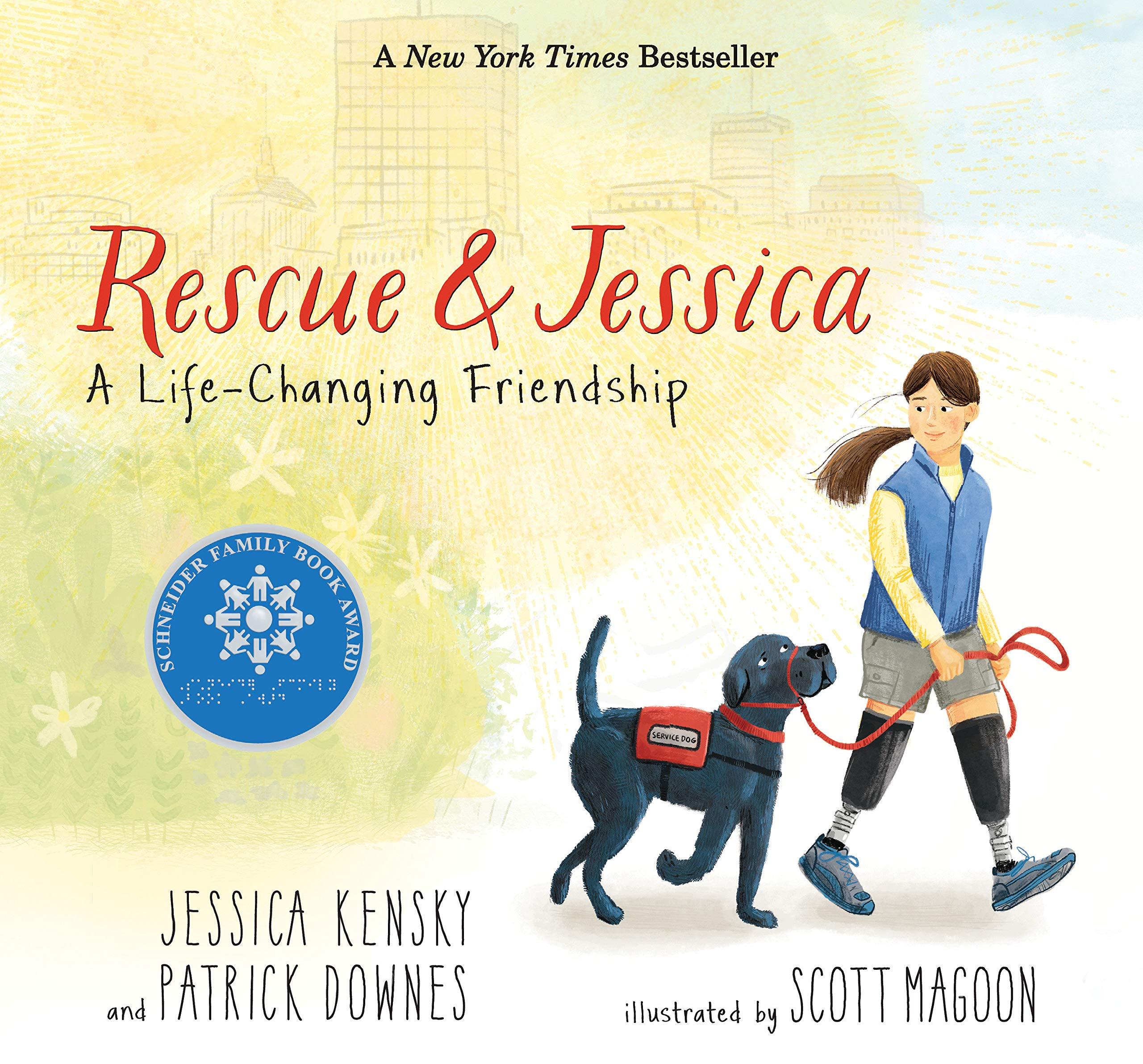 Rescue and Jessica, A Life Changing Friendship