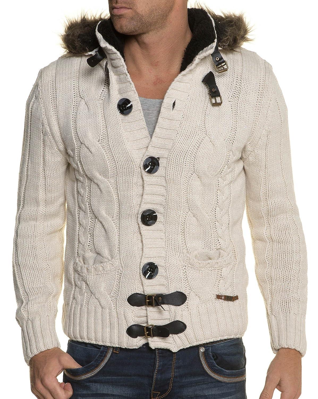 BLZ jeans - Ecru knit cardigan Big Thicket A Hood