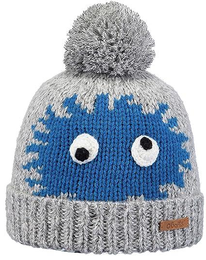 c32245bccb3 Barts Geri Kids Beanie Knit Kids´ (One Size - Grey-Blue)  Amazon.co ...