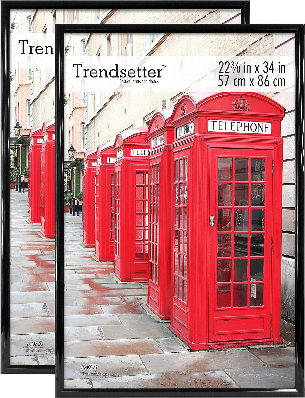 MCS Trendsetter Frame, 22.75 x 34 in, Black