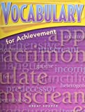 Vocabulary for Achievement: Student Edition Fourth Course