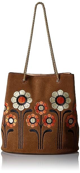 23e2484ce147 Orla Kiely Suede Embroidery Posy Bag