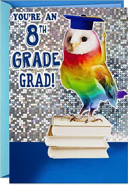 8th Grade Graduation Card