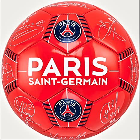 Paris Saint Germain - Balón firmas de los Jugadores - Colección ...