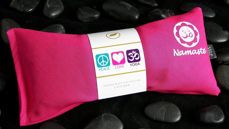 Amazon.com: Namaste Yoga Lavanda ojo almohada – rosa ...
