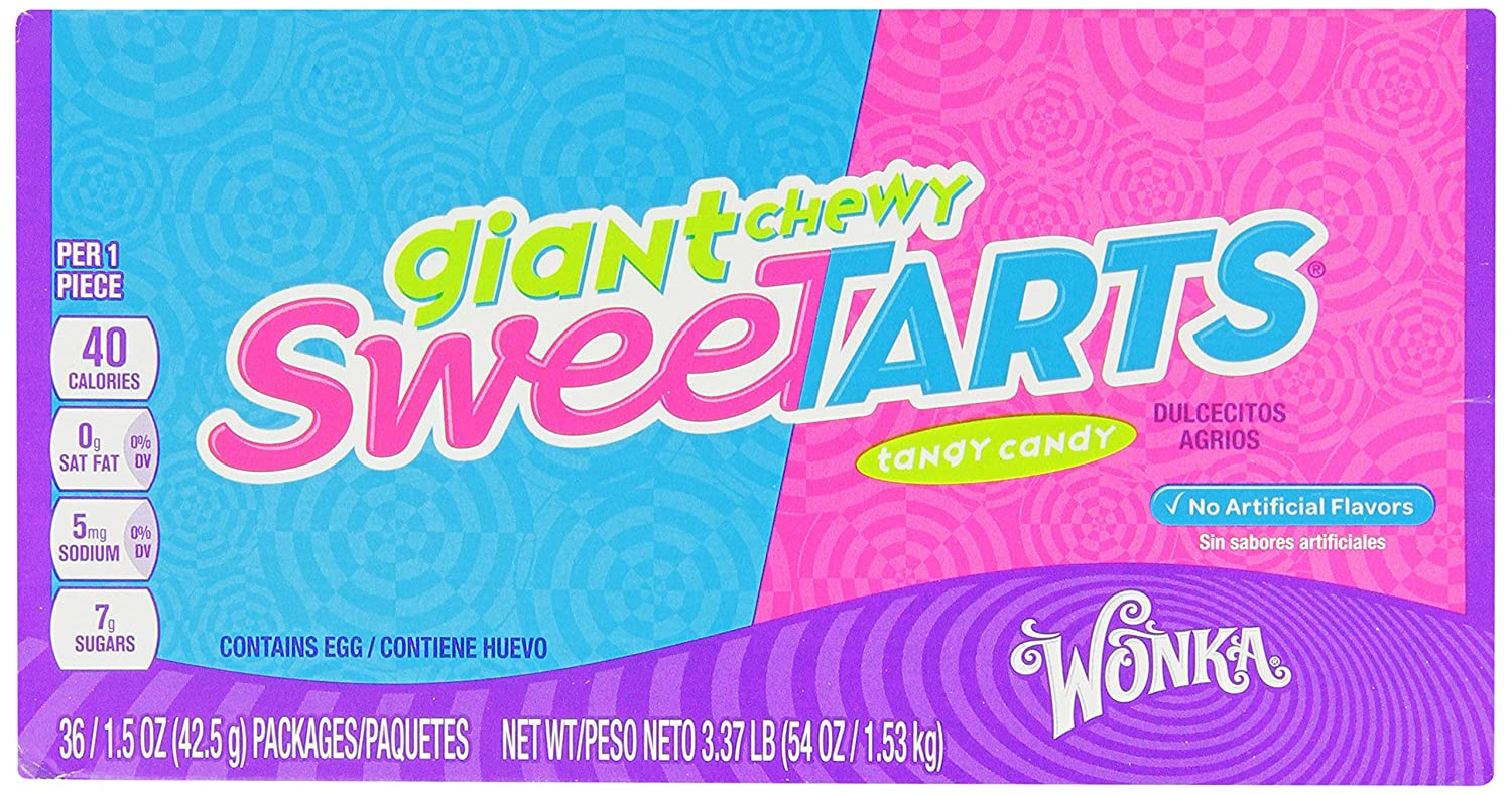 Amazon.com : SweeTARTS Giant Chewy Candy, 1.5 Ounce Packets (Pack of ...