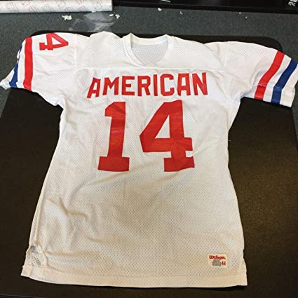 reputable site b32cb b8d12 1980's Dan Fouts NFL AFC Pro Bowl Authentic Wilson Jersey ...