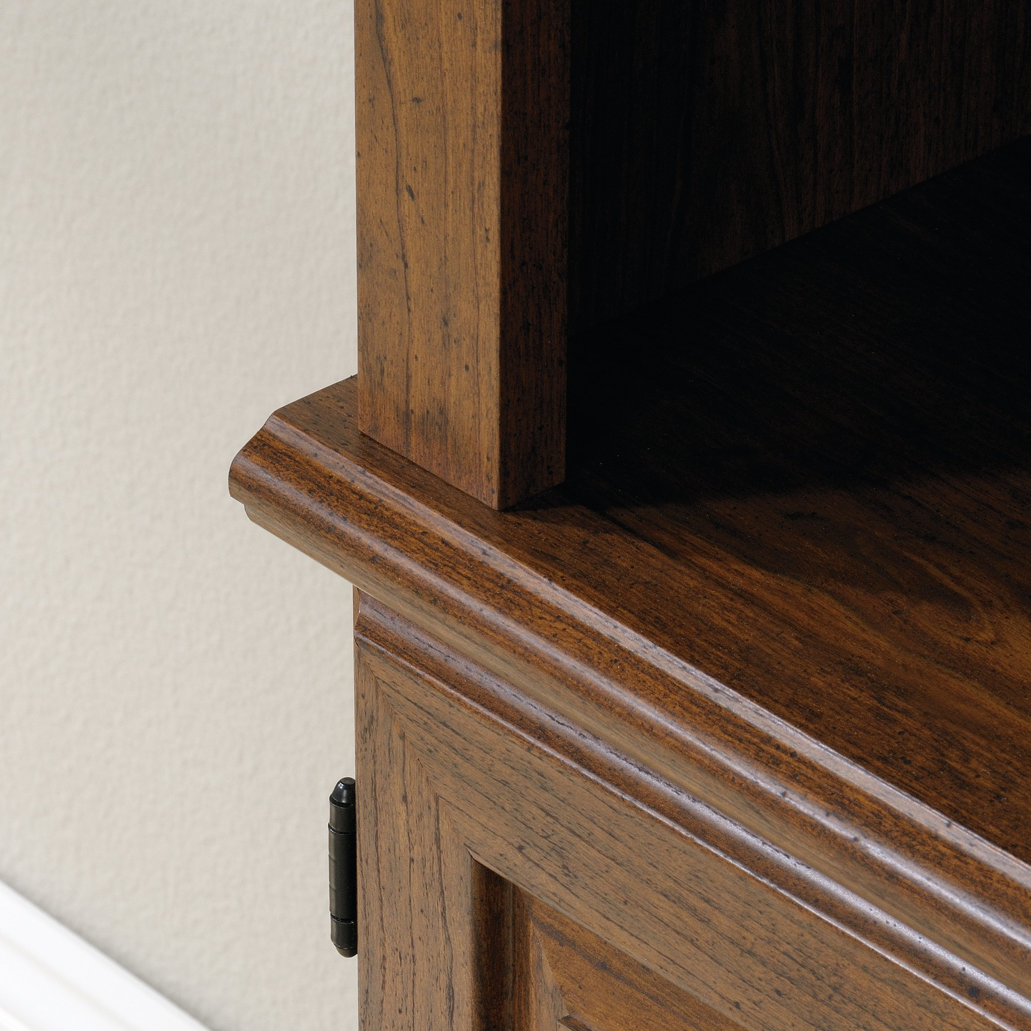 Sauder 418734 Orchard Hills Library with Doors, L: 29.45'' x W: 13.47'' x H: 71.50'', Milled Cherry finish by Sauder (Image #5)
