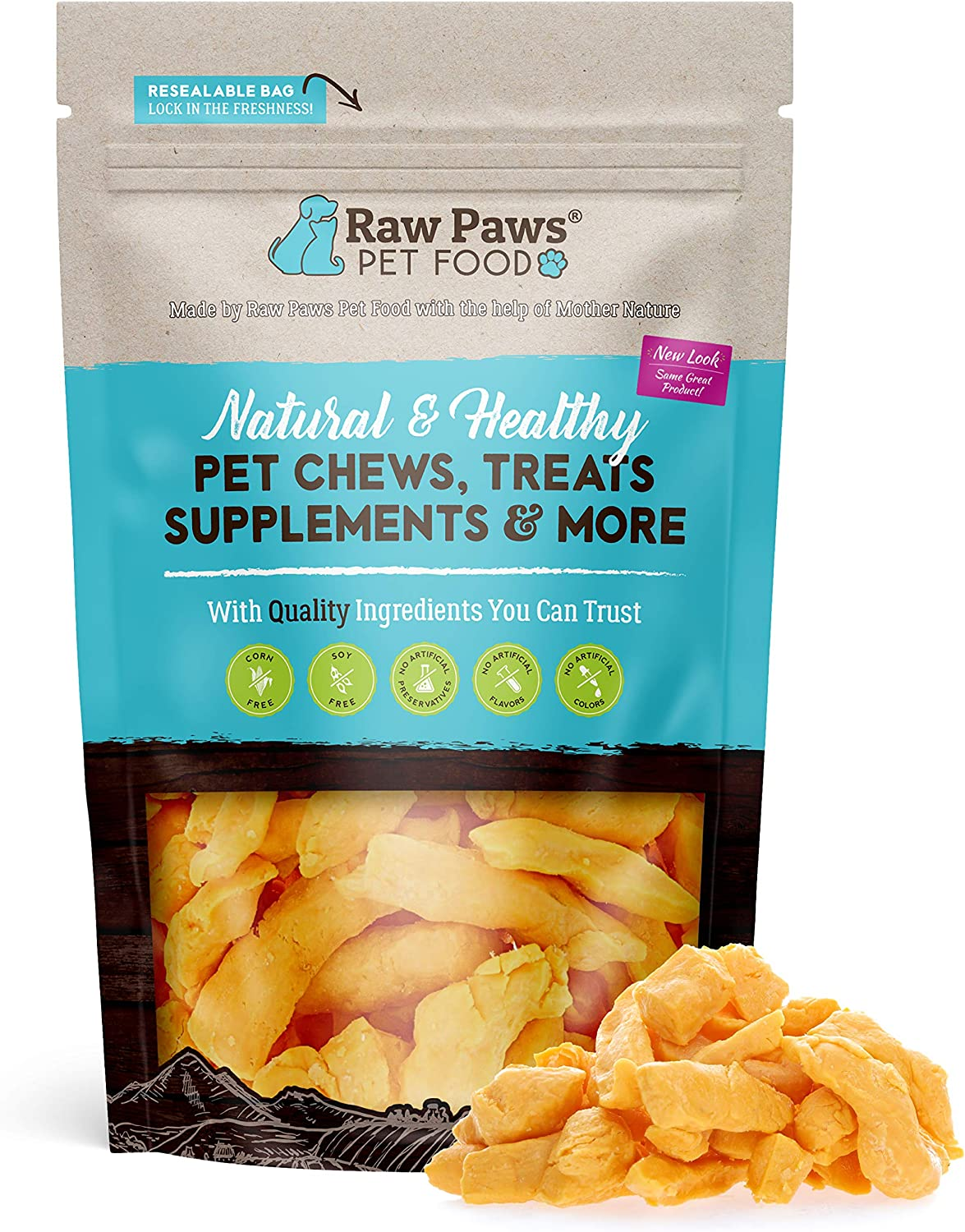 Raw Paws Wisconsin Freeze Dried Cheese Dog Treats - Crunchy Dog Cheese Puffs Made in USA - Natural, Human Grade Dried Cheese for Dogs - 100% Real Cheddar Cheese Bites for Dogs