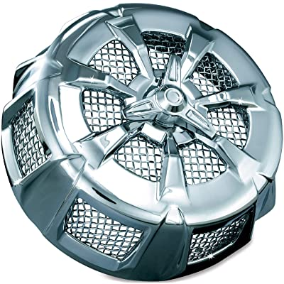 Kuryakyn 9439 Alley Cat Air Cleaner/Filter Cover for 1999-2020 Harley-Davidson Motorcycles, Chrome: Automotive