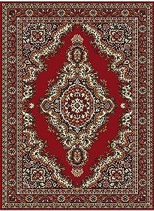 Un Amour de Tapis Sahara 02 Rouge 200x290, par unamourdetapis, Tapis Moderne, Polypropylène, 80 x 150 cm