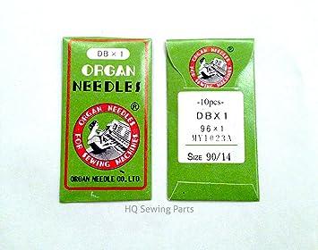 Máquinas de Coser Industrial ORGAN NEEDLES - DBX1-90/14: Amazon.es: Hogar