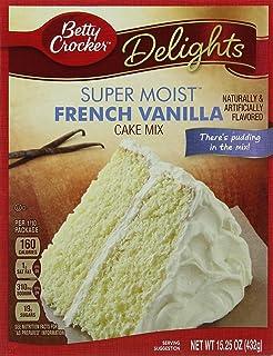Betty Crocker Super Moist French Vanilla Cake Mix 432 G Pack Of 2