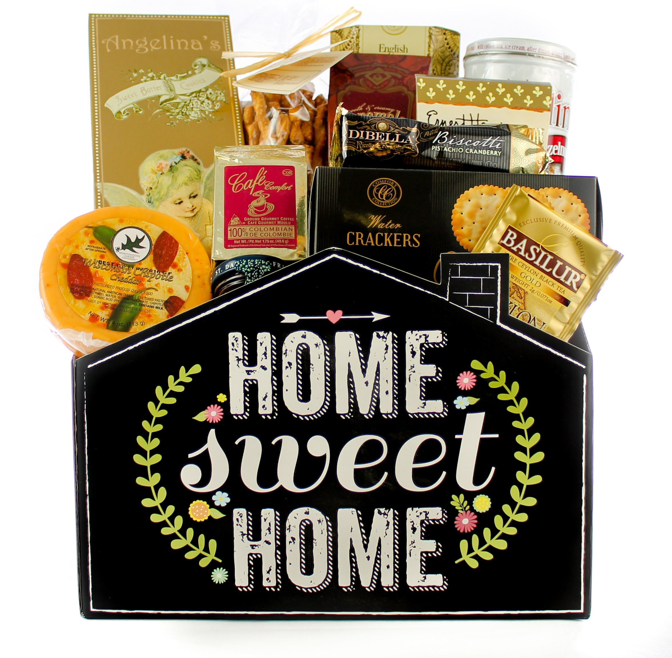 Gifts Unlimted New Home Housewarming Gift Basket, Home Sweet Home, Great Realtor Gift by Gifts Unlimited (Image #2)