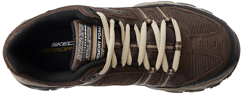 Skechers-Men-039-s-After-Burn-Memory-Fit-Strike-Off-Lace-Up-Sneaker thumbnail 22
