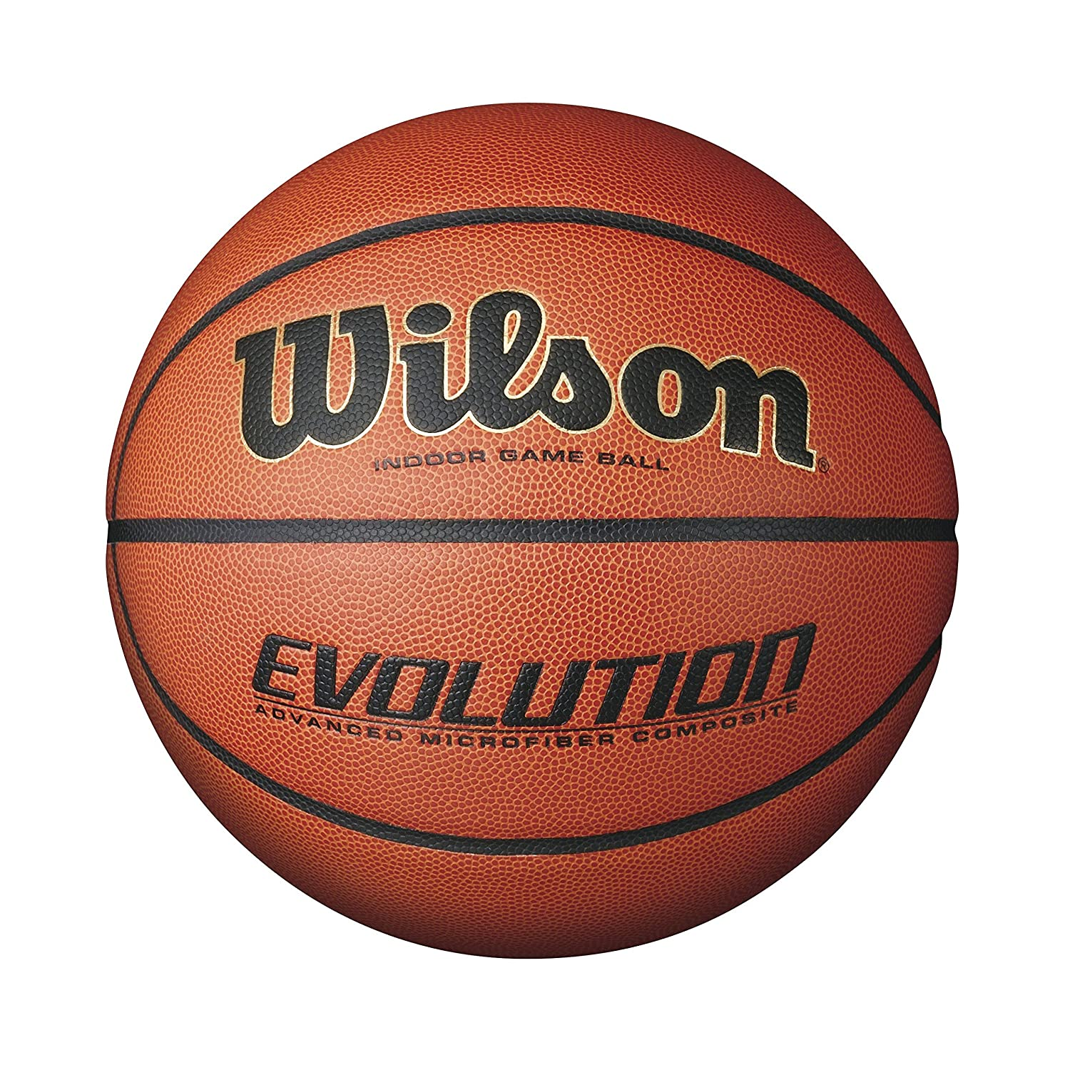 Game on closeouts sporting goods - Amazon Com Wilson Evolution Indoor Game Basketball Intermediate Size 6 Sports Outdoors