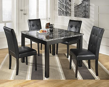 Amazon.com - Maysville D154-225 5-Piece Dining Room Set with 1 ...
