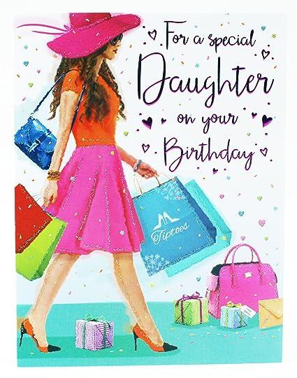 Tarjeta de felicitación de cumpleaños para una hija especial ...