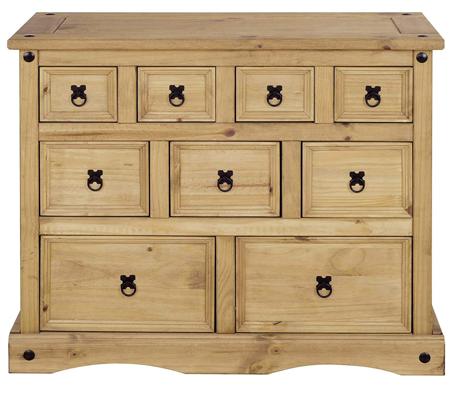Mews Corona Merchant Chest of Drawers, Mexican Pine P2201-CR