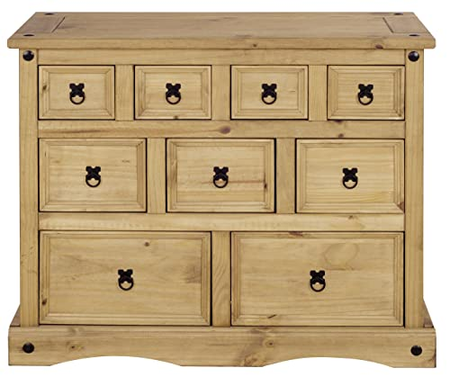 Mews Corona Merchant Chest of Drawers, Mexican Pine