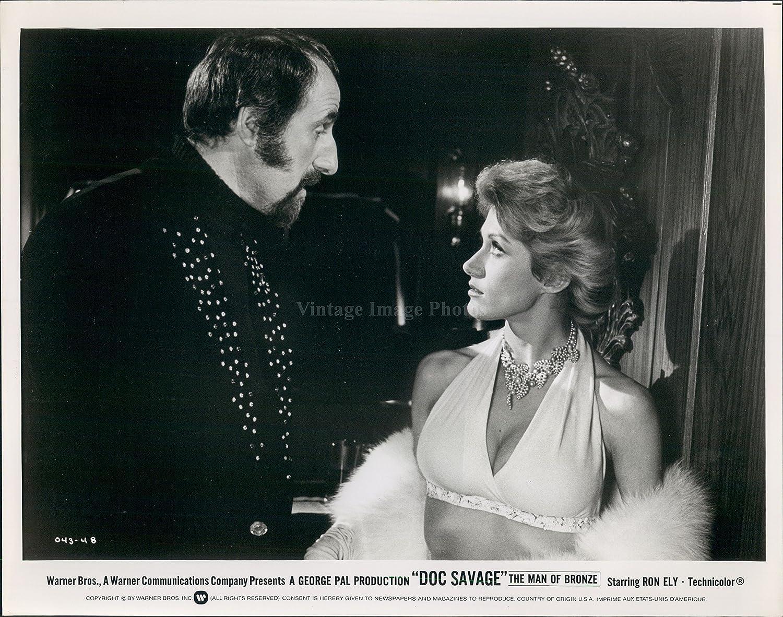 1960sphoto Doc Savage hombre bronce película todavía Ron Ely ...
