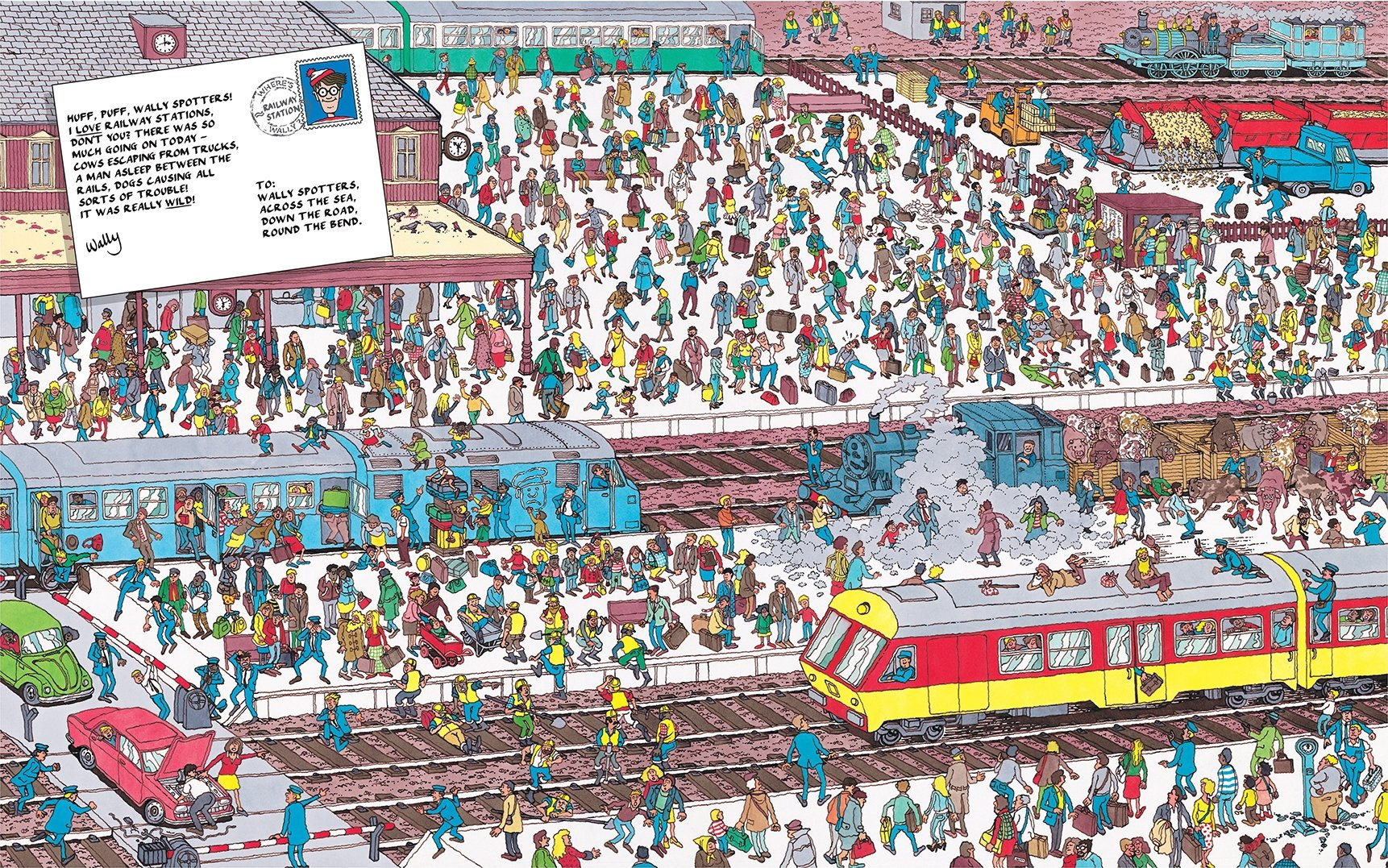 Wheres wally the great picture hunt martin handford wheres wally the great picture hunt martin handford 9781406322934 amazon books thecheapjerseys Images