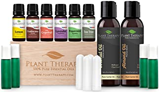 Plant Therapy® Essential Oil Starter Set with AromaFuse Diffuser