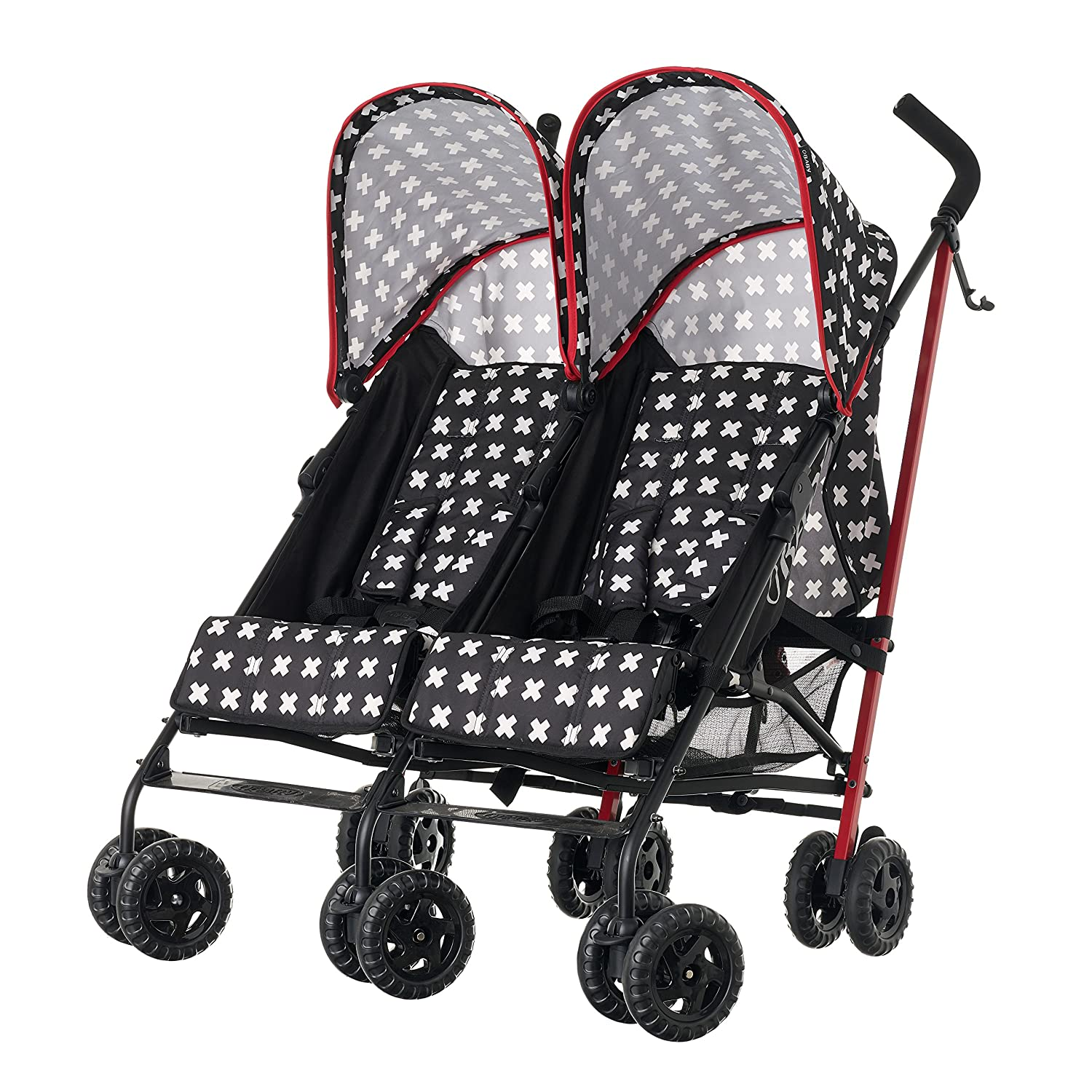 Obaby Apollo Twin Stroller, Crossfire Kims Baby Equipment Co Ltd 13OB1519