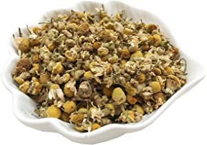 PEPPERLONELY 1 oz Organic Kosher Certified Botanical Dried Edible Chamomile Flowers