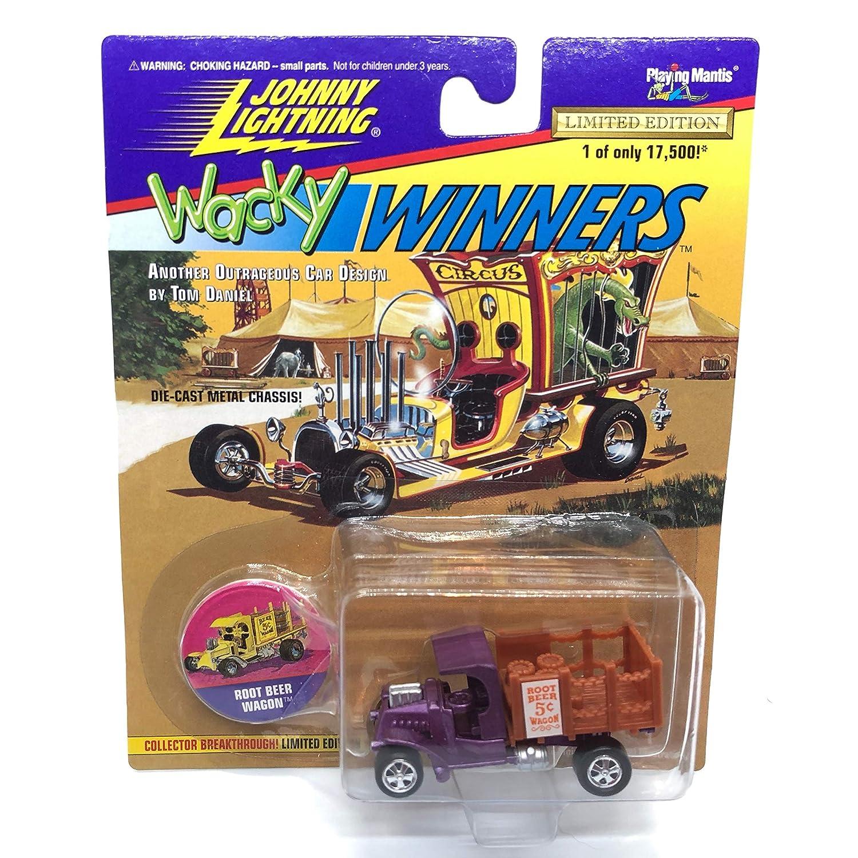 Johnny Lightning Root Beer Wagon (Purple) Tom Daniel Wacky Winners ...