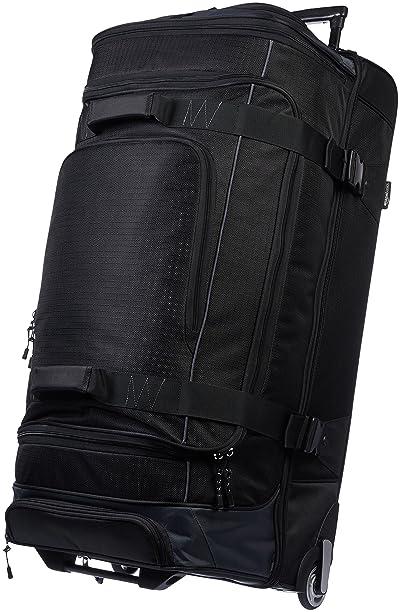 AmazonBasics Ripstop Rolling Travel Luggage Duffle Bag