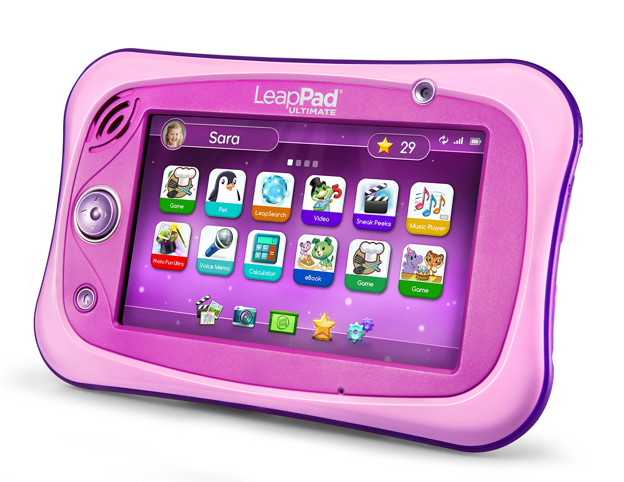 LeapFrog LeapPad Ultimate Ready for School Tablet, Pink by LeapFrog (Image #2)
