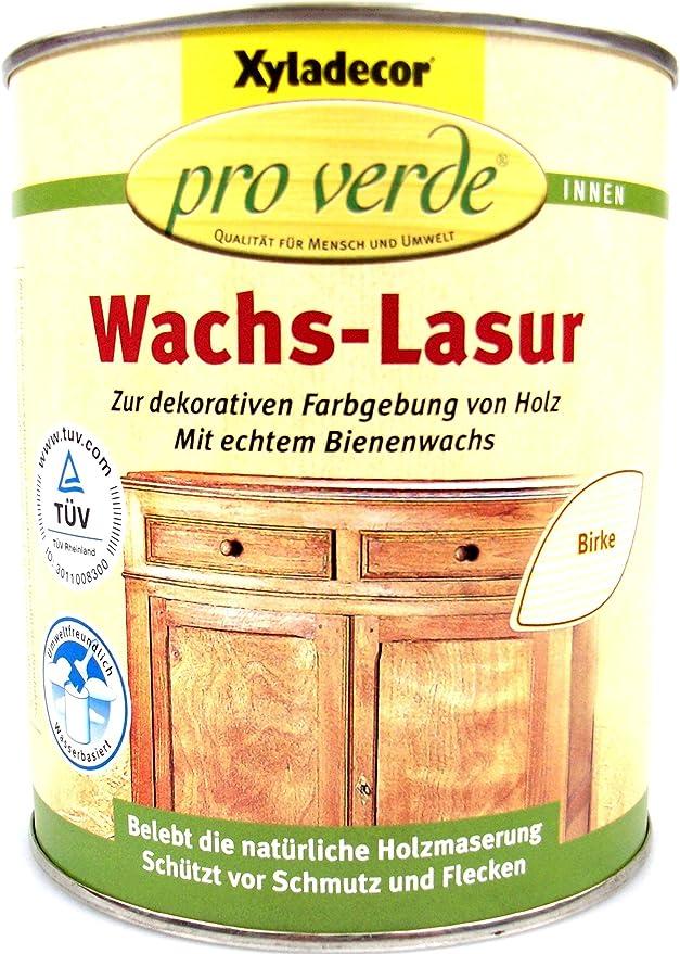 Xyladecor – Pro Verde Cera barniz, 0,75 litros en cerezo: Amazon.es: Bricolaje y herramientas