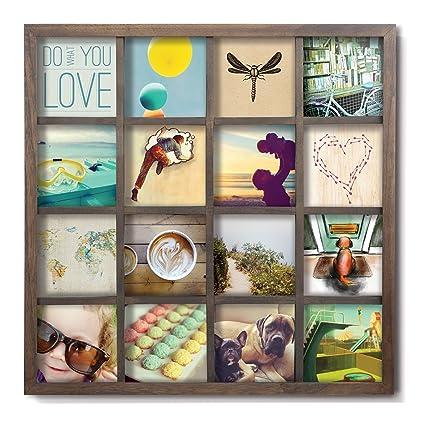 Amazon.com - Umbra Gridart 4x4 Picture Frame - DIY Gallery Style ...