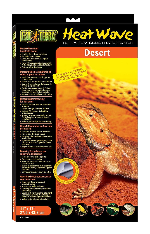 Exo Terra manta térmica desertica 28x43 cms 25 w: Amazon.es: Salud y cuidado personal