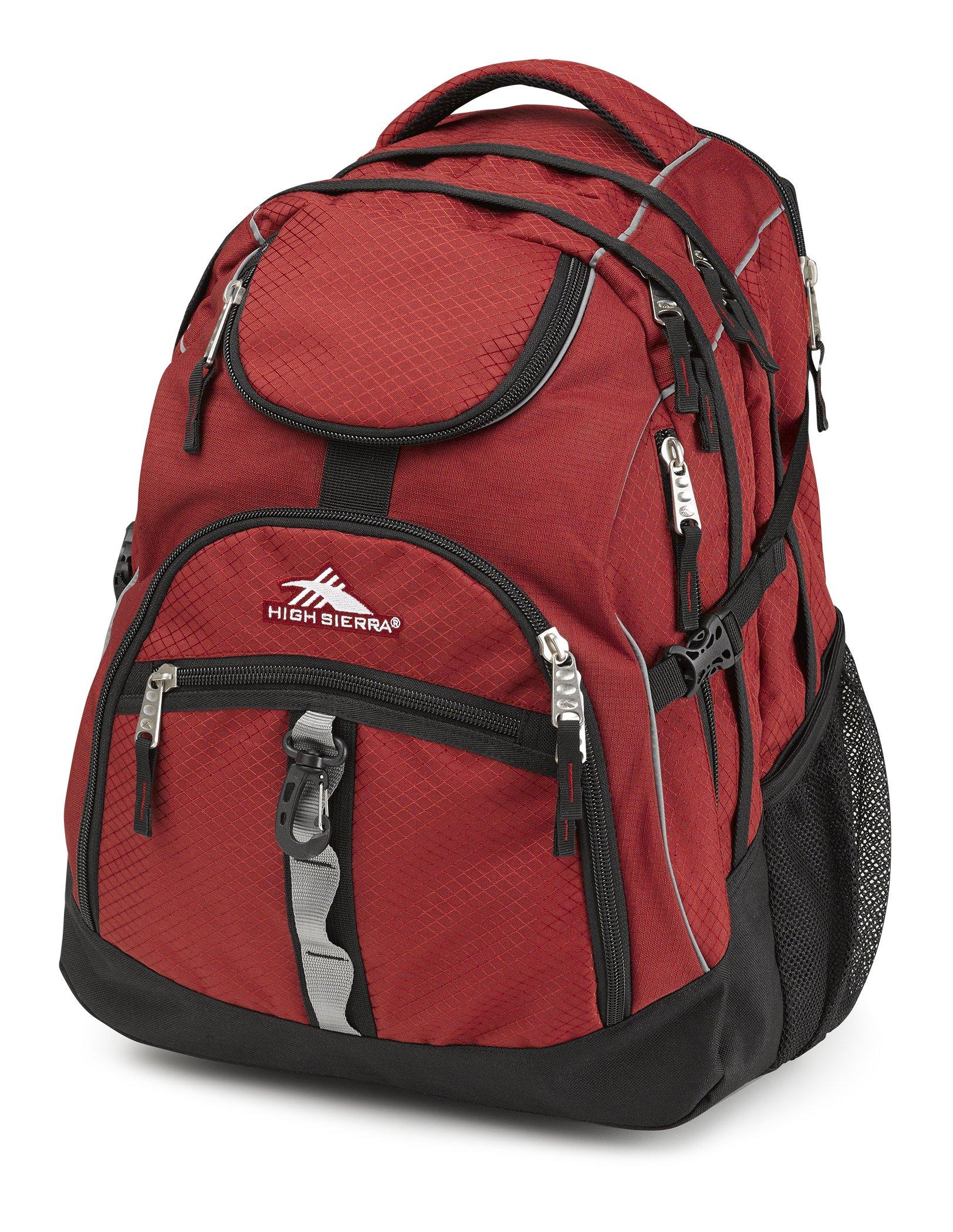 High Sierra Access Laptop Backpack, Brick/Black