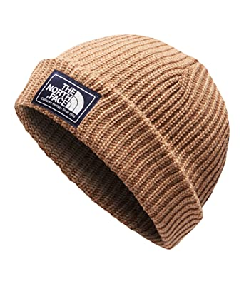 7ca28a0a57b The North Face Salty Dog Beanie - Cargo Khaki   Gingerbread Brown - OS at  Amazon Men s Clothing store