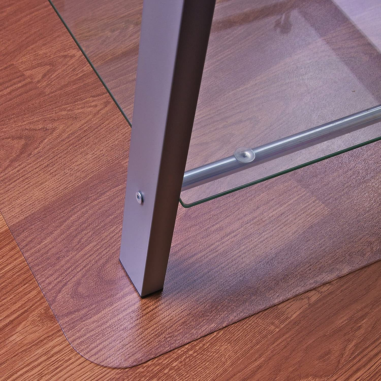 Floortex F/ür Hartb/öden /& Teppich 48 x 60 farblos