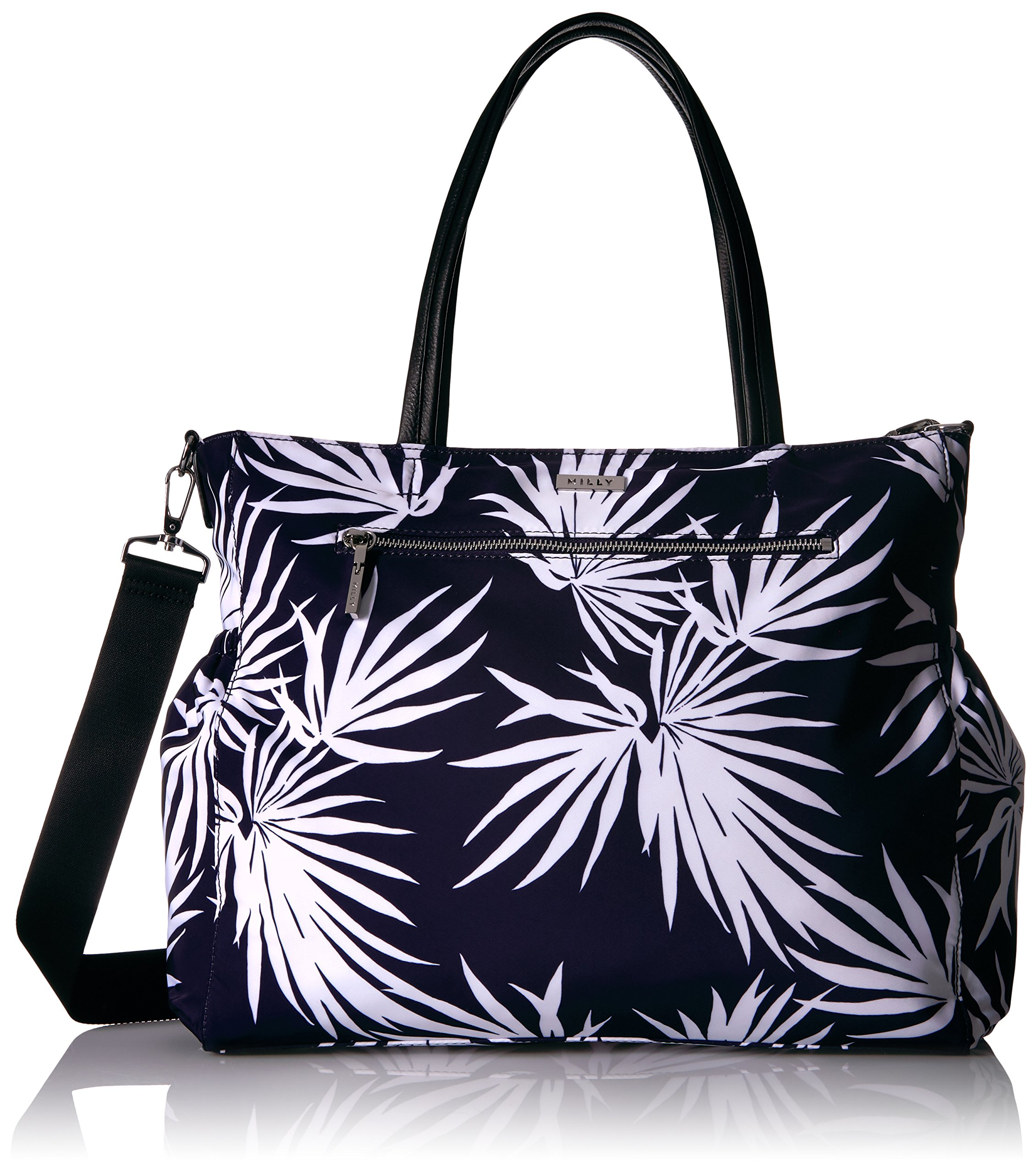MILLY Palm Printed Diaper Bag by MILLY