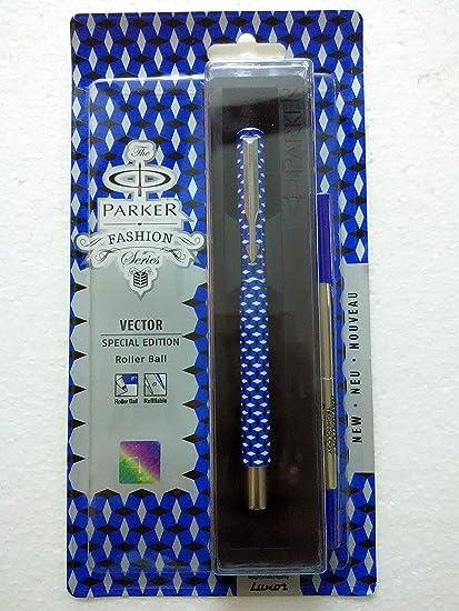 Parker Vector Special de bolas de billar bolígrafo de alianzas de bolígrafo para edición de 3D bloque para negro y ...