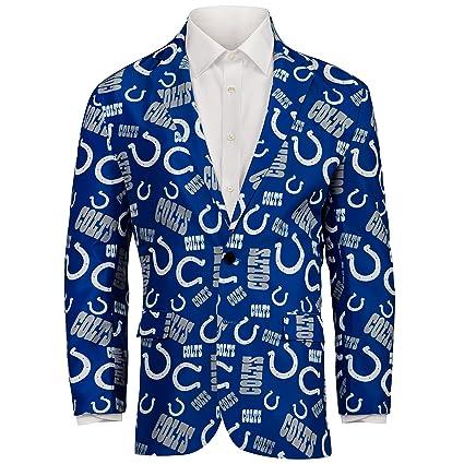 Amazon.com   NFL Mens Repeat Logo Ugly Business Jacket   Sports ... 5ade44adf